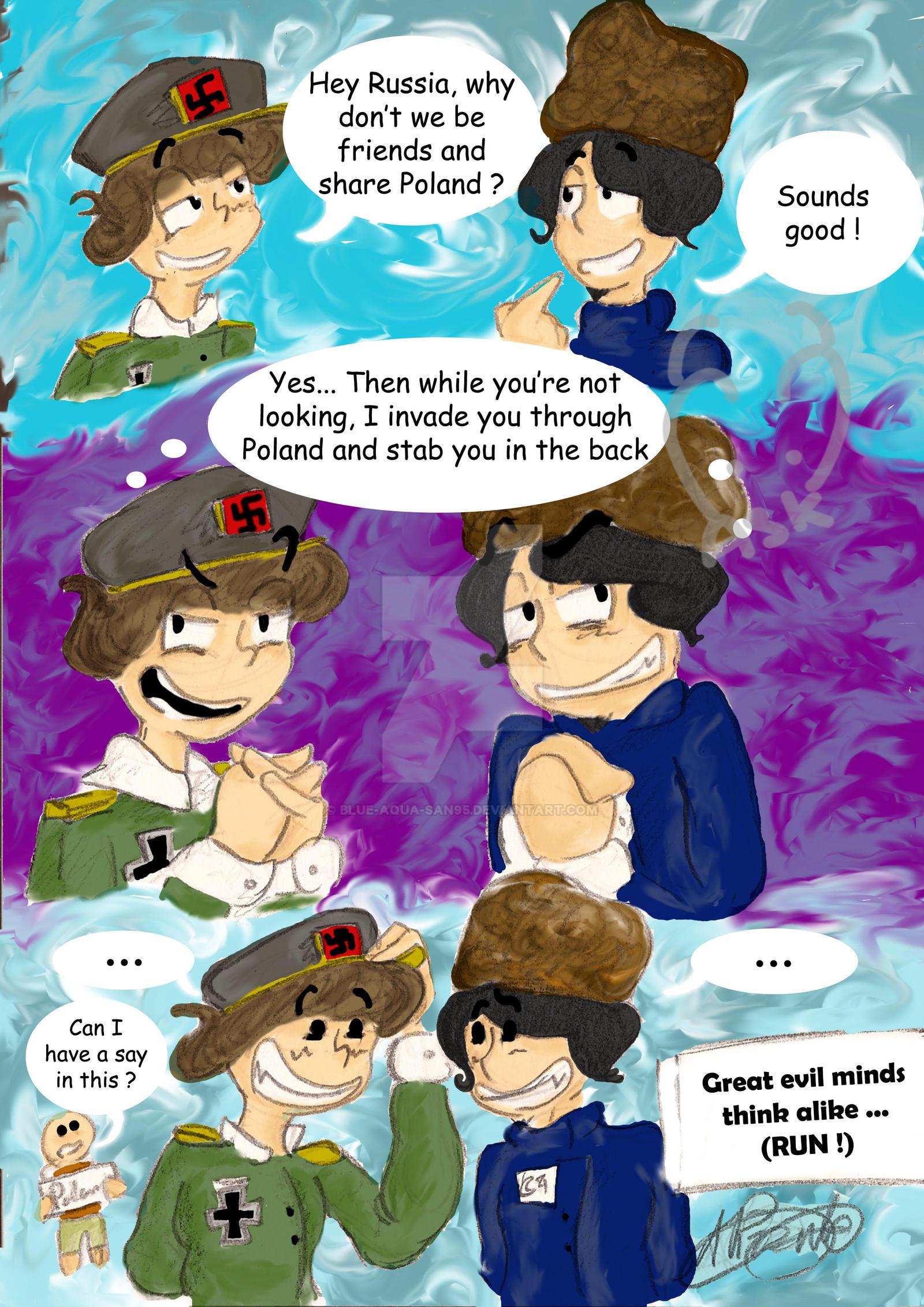 Great (evil) minds think alike... by Blue-Aqua-san95