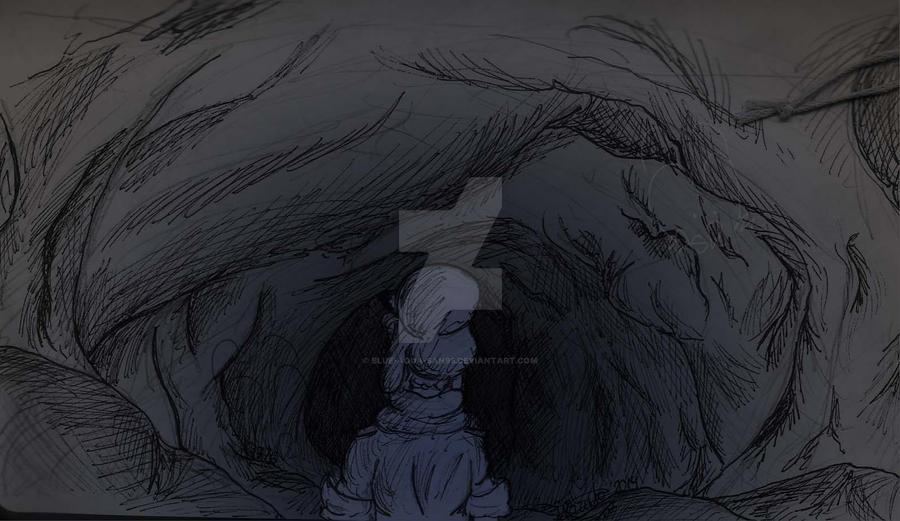 It's dark in here... by Blue-Aqua-san95