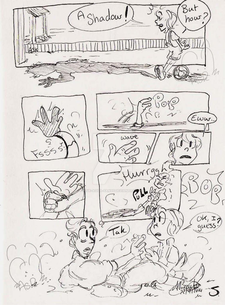 My strange friend - Page 5 by Blue-Aqua-san95