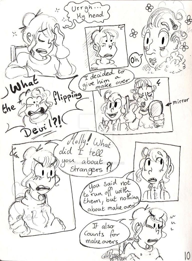My strange friend - Page 10 by Blue-Aqua-san95