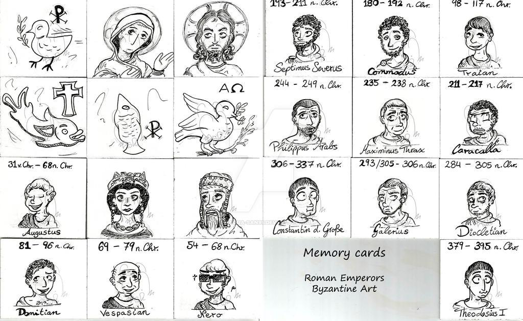 Memory cards by Blue-Aqua-san95