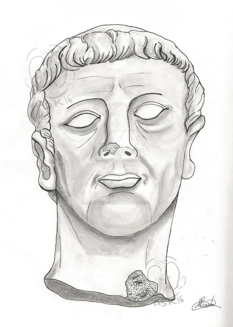 Emperor Claudius Portrait by Blue-Aqua-san95