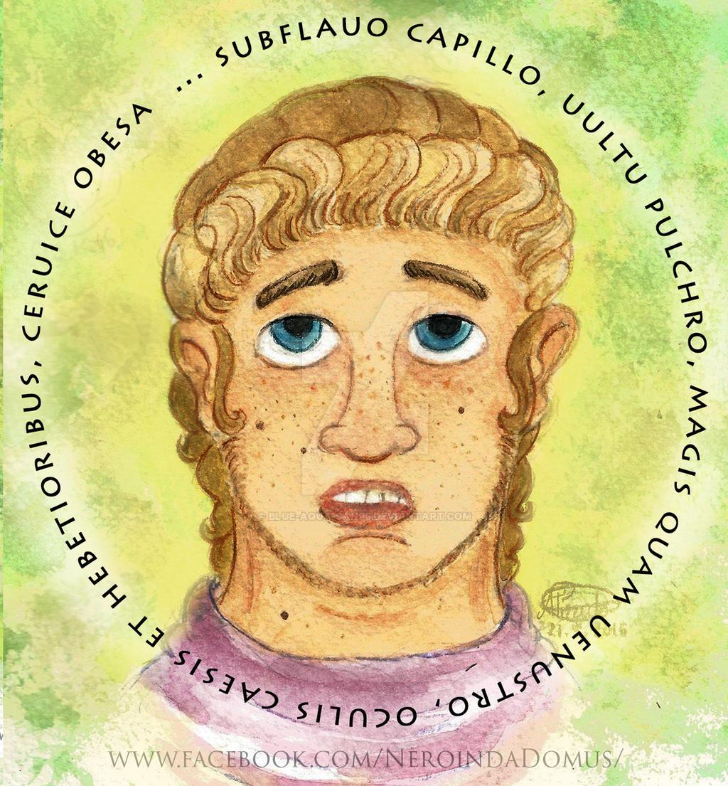 Quis erat Nero ? : how did he look like #1 by Blue-Aqua-san95