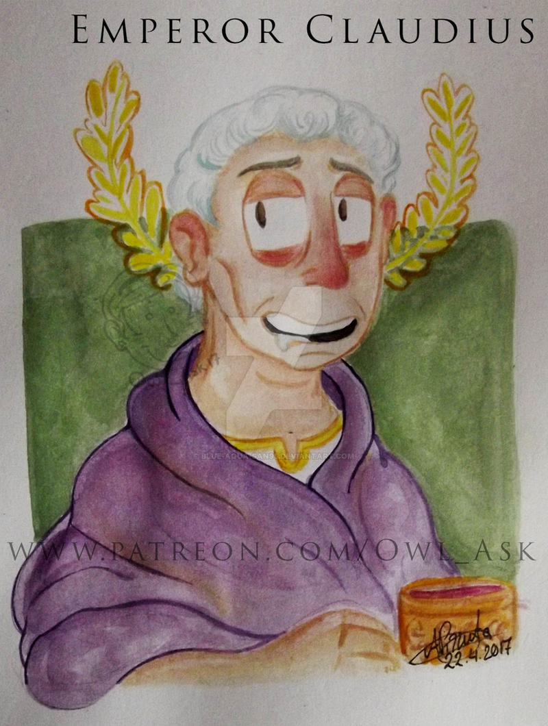 Neropolis - Emperor Claudius (Illustration) by Blue-Aqua-san95