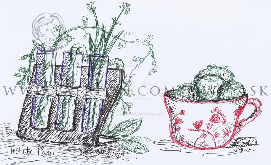 Ask Doodles - Plants by Blue-Aqua-san95
