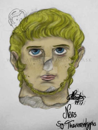 Ask Doodles - emperor Nero by Blue-Aqua-san95