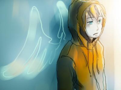 Emo Angel Kenny by emixoO