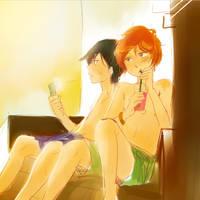 hot summer days by emixoO