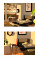 3D Room Final by emixoO