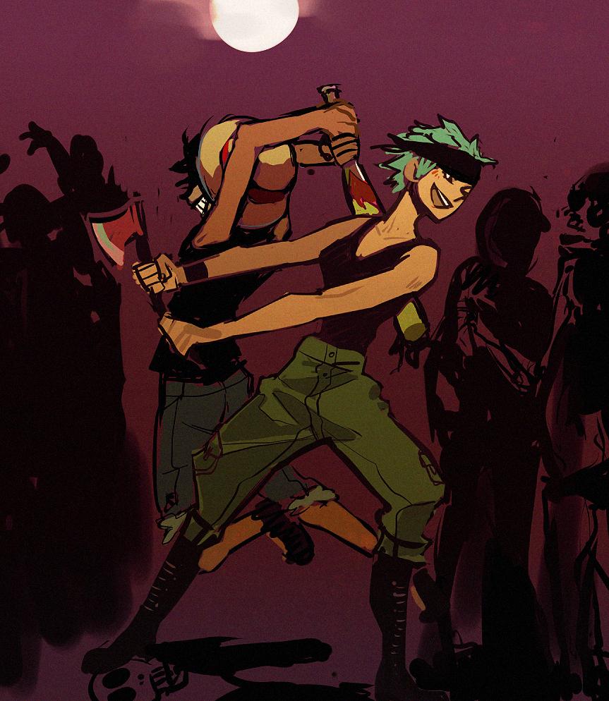 Zombie Piece by emixoO
