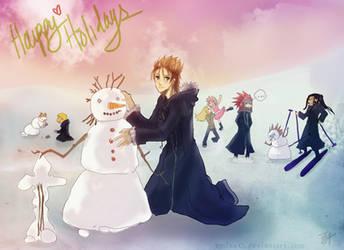 Happy Holidays from OrgXIII by emixoO