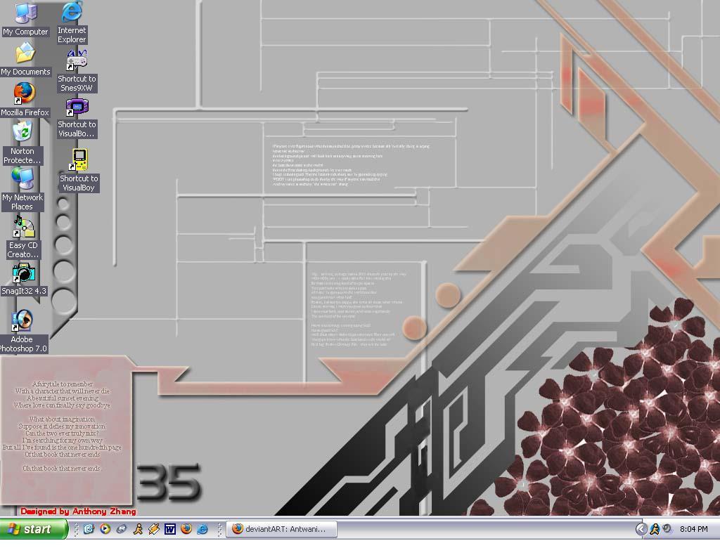 Desktop by Antwanio182