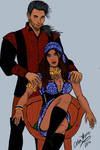 Trystran Hawke and his wife Isabela