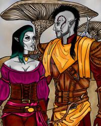 Teldryn and Amiriana