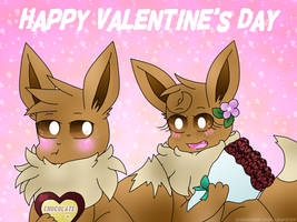 Happy Valentine's Day | WinterFlower by ChanChan-the-Leafeon