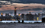 Skyline Empire State Building