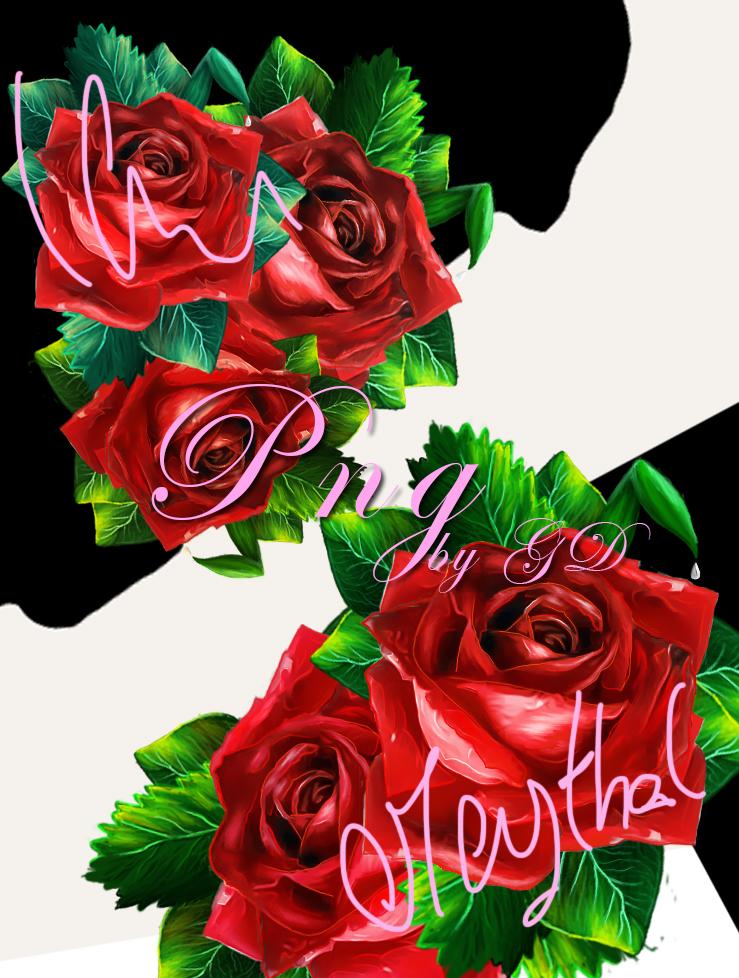5 roses png by KateKatnisspage