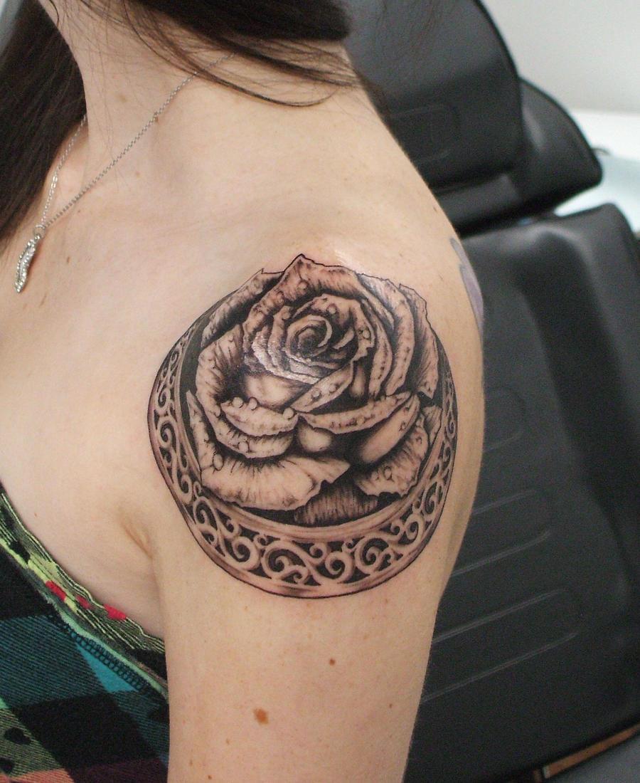 Shouldered rose 1 by adammdesigns