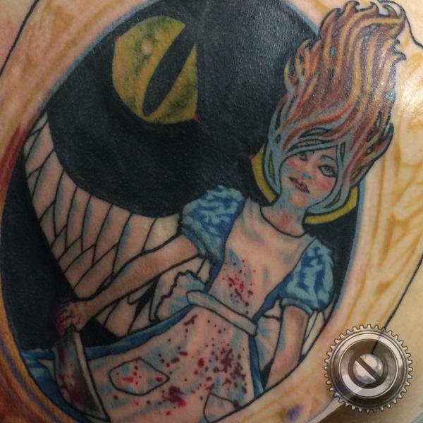 Evil Alice Sneak Peek by adammdesigns