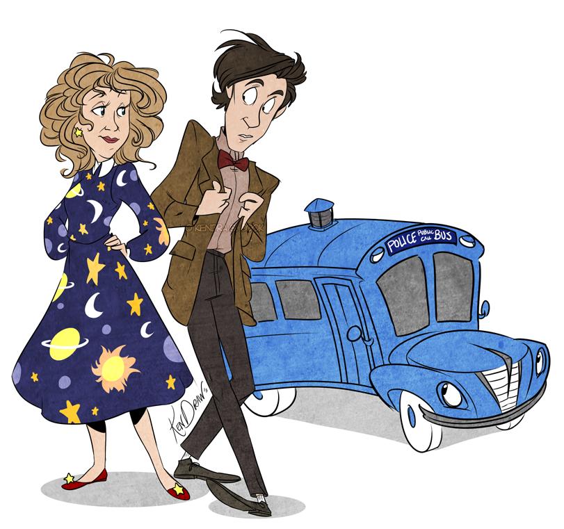 10152011 MAGIC TARDIS by KenDraw