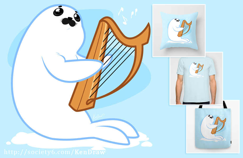 Baby Harp Seal - Baby Harp Seal