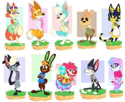 Animal Crossing Island Residents!