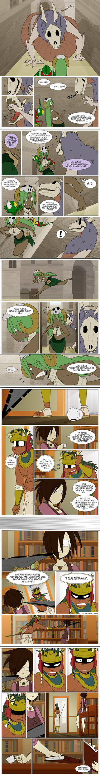 Burning Avalon Round 3: Page 4 by Tickity-Tock