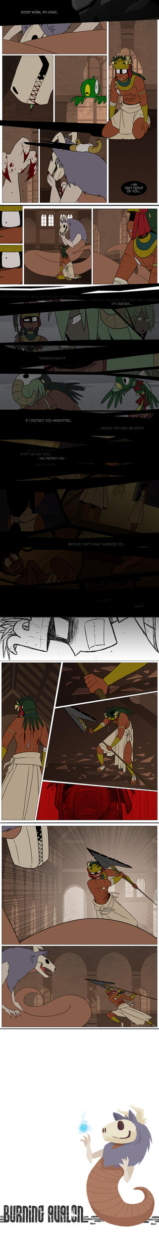 Burning Avalon Round 3: Page 8 by Tickity-Tock