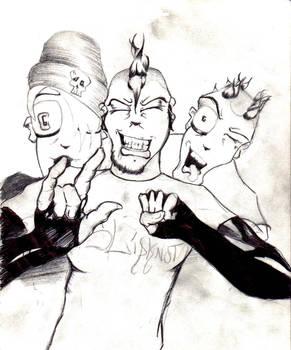 The Moshing sketch