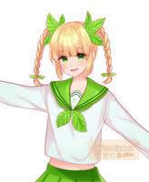 Plant Girl by allreii