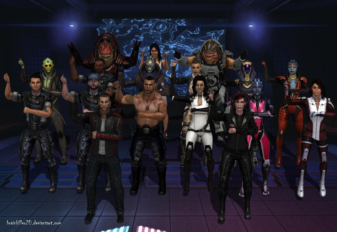Gangnam Style in Mass Effect by BrainKiller20