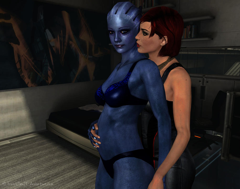 Pregnancy (FemShep version) by BrainKiller20