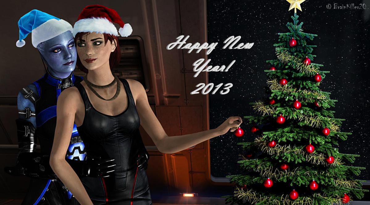 Happy New Year by BrainKiller20