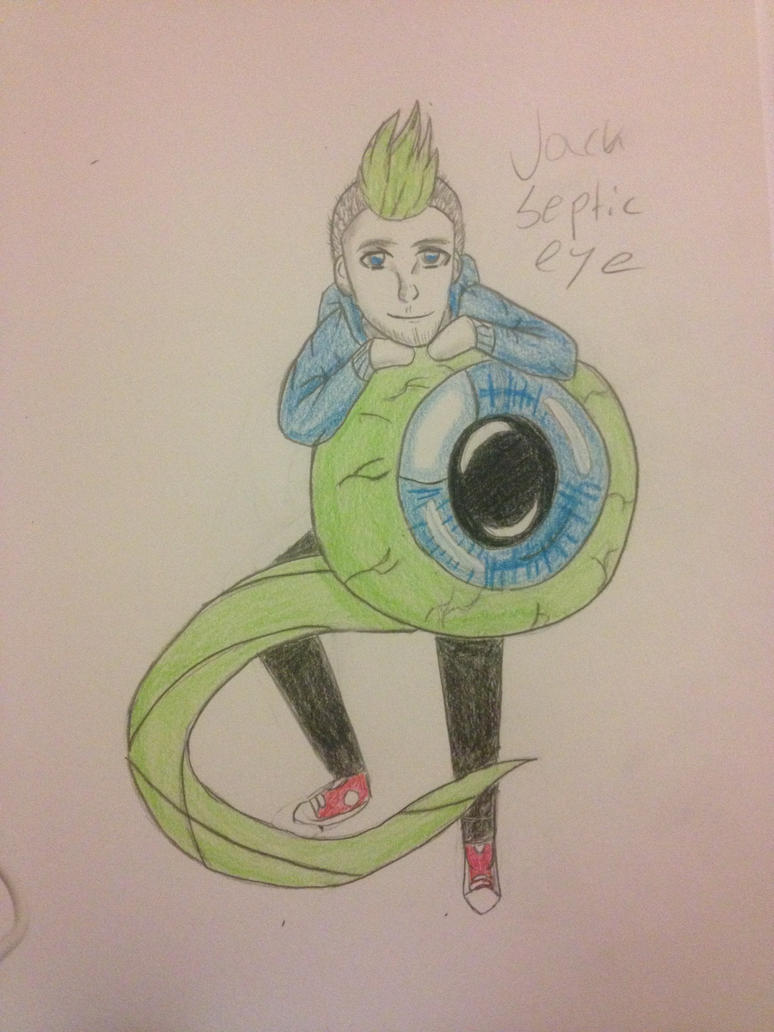 Jacksepticeye and Sam by AntiLucky