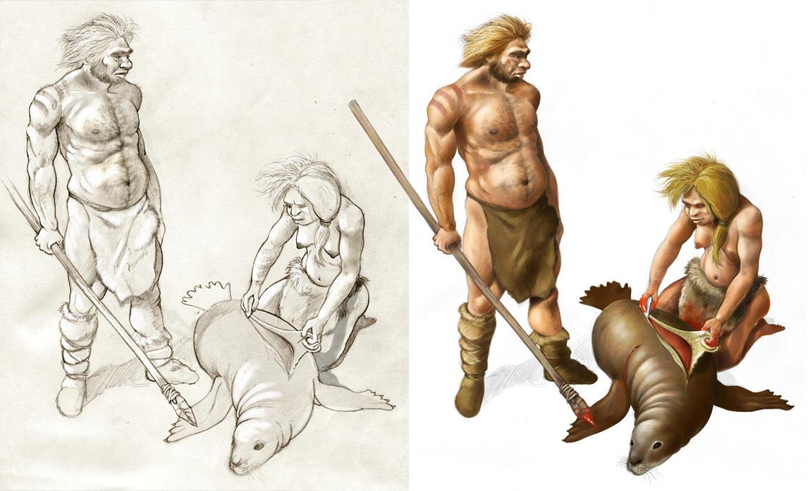 Last neandertals by japa2