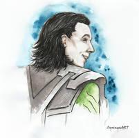 Loki... by SyringaART
