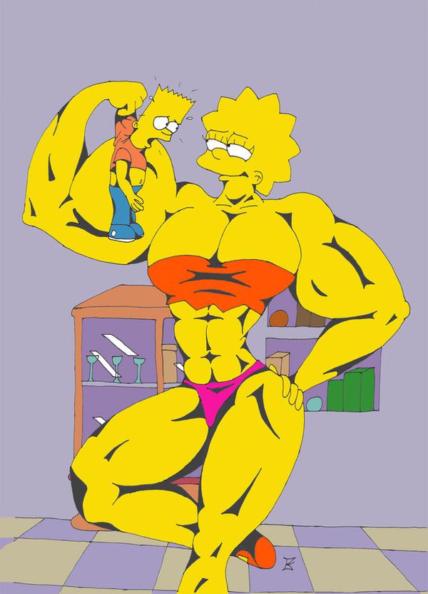 Lisa Muscle Growth 03 by kimenguman