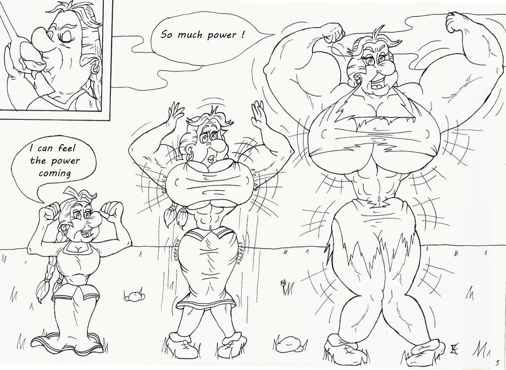 Asterix and the Girl Powa Page 05/31 by kimenguman