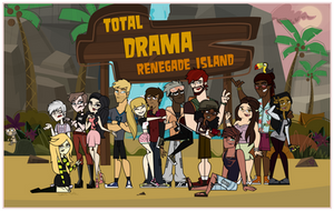 Total Drama Renegade Island: The Cast by FuneralCrasher