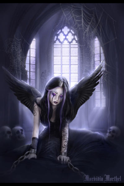 Gothic angel by morbidiamorthel on deviantart - Gothic fallen angel pictures ...