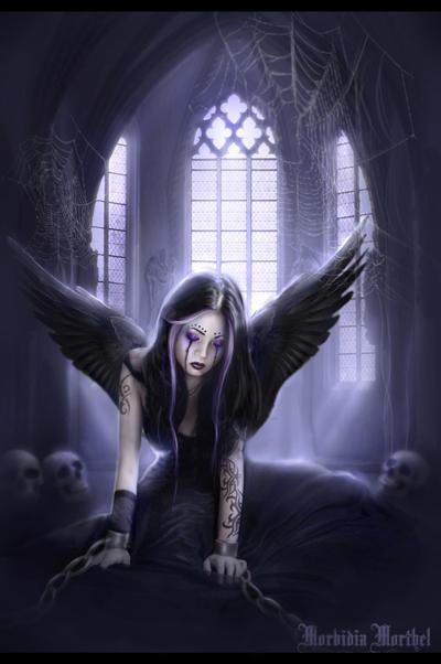 fantasy art angel sad - photo #12