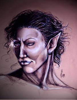 Noelle Elf Sketch
