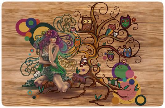 The Book Owl Tree