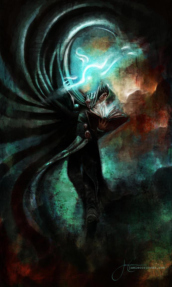 Jace Beleren by 0Corcoran