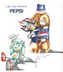 Light Crisp Refreshing Pepsi