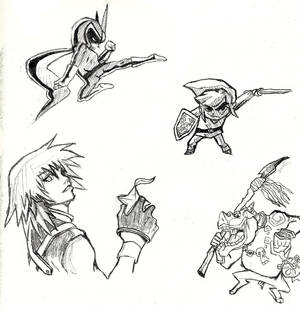 Video Game Sketches