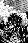 Venom inked by Zyon23