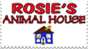 Rosie's Animal House Stamp by RosiesAnimalHouse