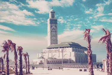 Hassan 2 mosque casablanca-morocco