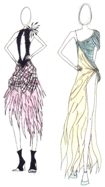 easy fashion design sketches - photo #32